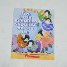 Βιβλίο: Five little penguins slipping on the ice